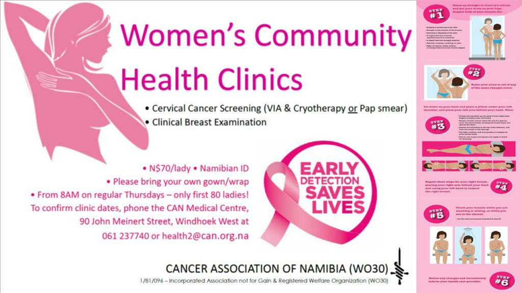 Woman Clinic Cancer Association Of Namibia WO30